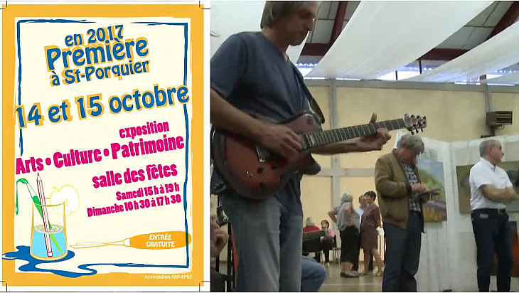 exposition ASP-SP82 ARTS CULTURE PATRIMOINE à Saint-Porquier - Tarn-et-Garonne DU 14 1 15 OCTOBRE 2017